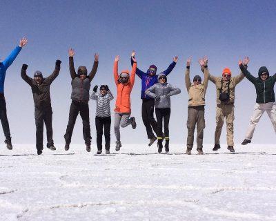 5. Fun at the Uyuni Salt Flat